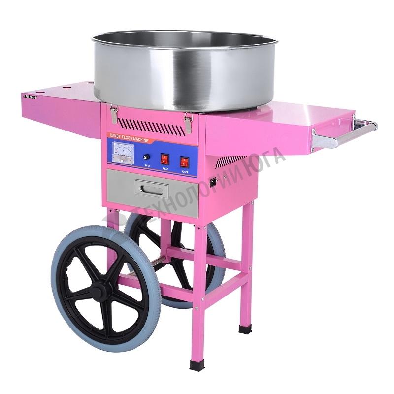 Аппарат для сахарной ваты Airhot CF-3 на тележке - купить в интернет-магазине industry-shop.ru