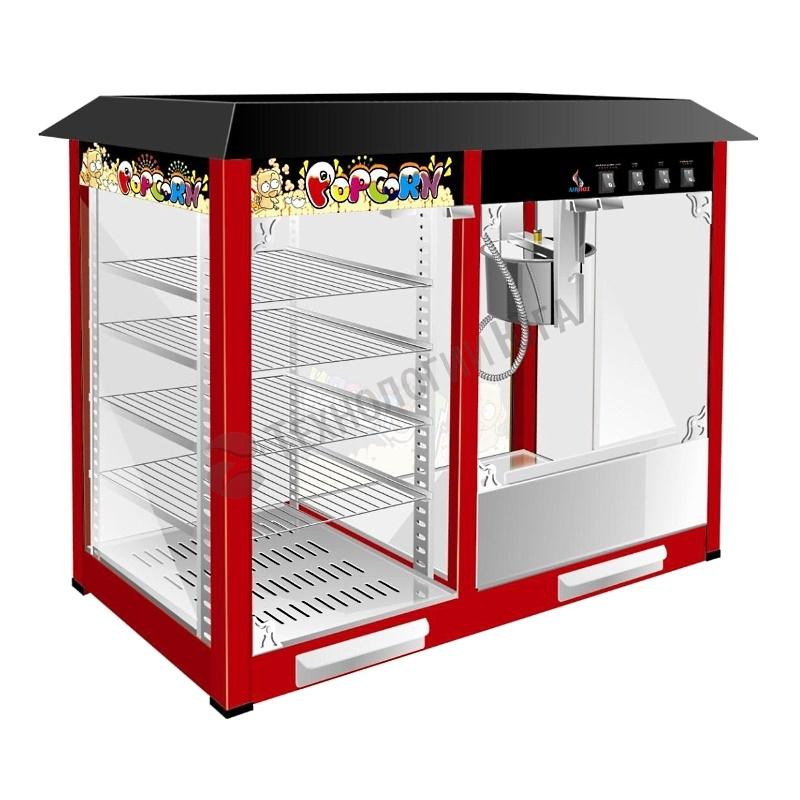 Аппарат для попкорна Airhot POP-6W с витриной - купить в интернет-магазине industry-shop.ru
