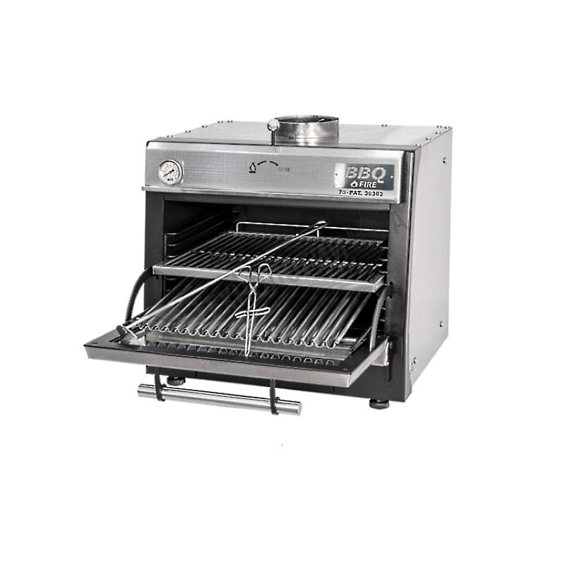 Гриль-печь BBQFIRE BR-80 INOX - купить в интернет-магазине industry-shop.ru