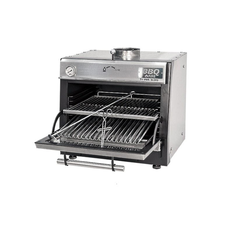 Гриль-печь BBQFIRE BR-90 INOX - купить в интернет-магазине industry-shop.ru