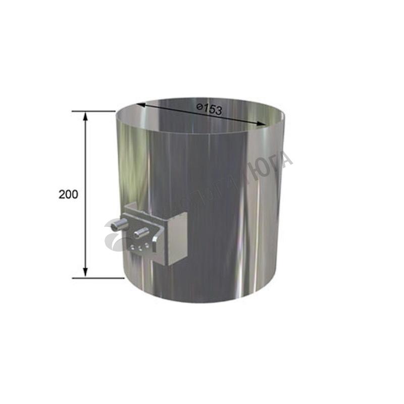 Регулятор потока воздуха внешний PIRA/BBQFIRE - купить в интернет-магазине industry-shop.ru