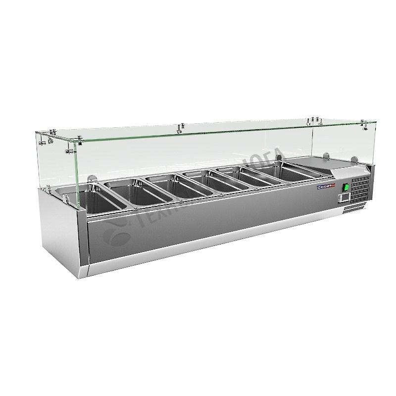 Витрина холодильная Cooleq VRX 1200/380 - купить в интернет-магазине industry-shop.ru