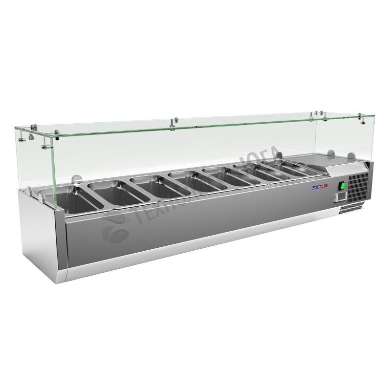 Витрина холодильная Cooleq VRX 1500/330 - купить в интернет-магазине industry-shop.ru