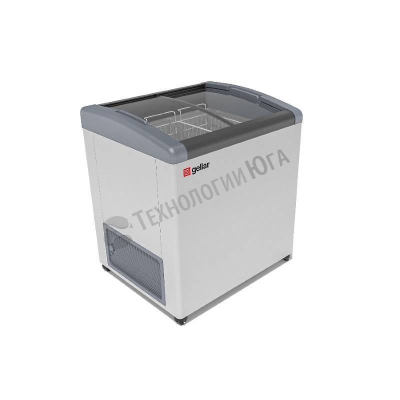 Ларь морозильный Frostor GELLAR FG 275 E, гнутое стекло - купить в интернет-магазине industry-shop.ru