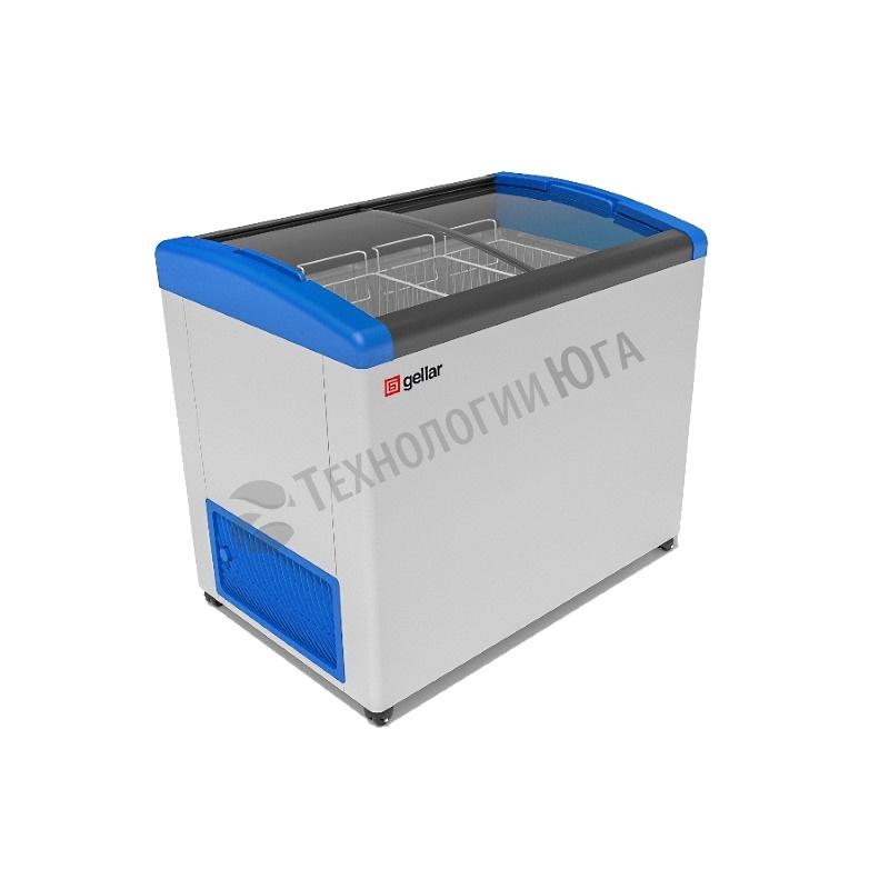 Ларь морозильный Frostor GELLAR FG 375 E, гнутое стекло - купить в интернет-магазине industry-shop.ru