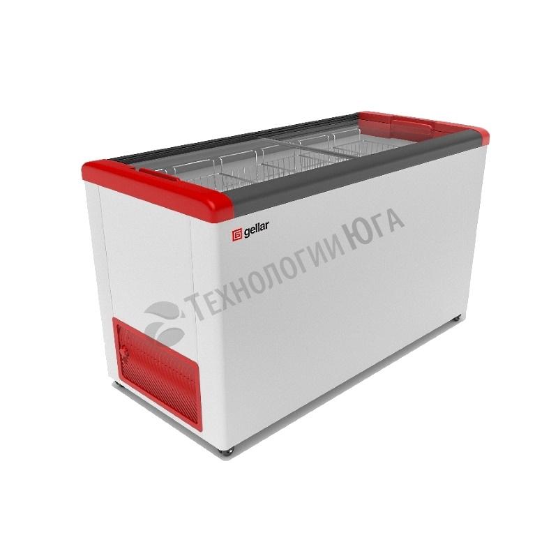 Ларь морозильный Frostor GELLAR FG 500 C, прямое стекло - купить в интернет-магазине industry-shop.ru
