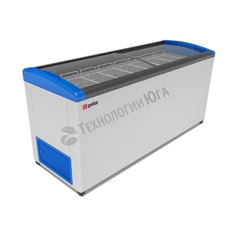 Ларь морозильный Frostor GELLAR FG 700 E, гнутое стекло - купить в интернет-магазине industry-shop.ru
