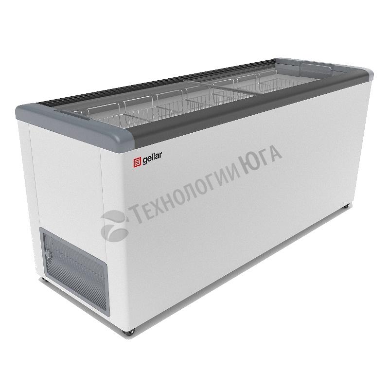Ларь морозильный Frostor GELLAR FG 700 C, прямое стекло - купить в интернет-магазине industry-shop.ru