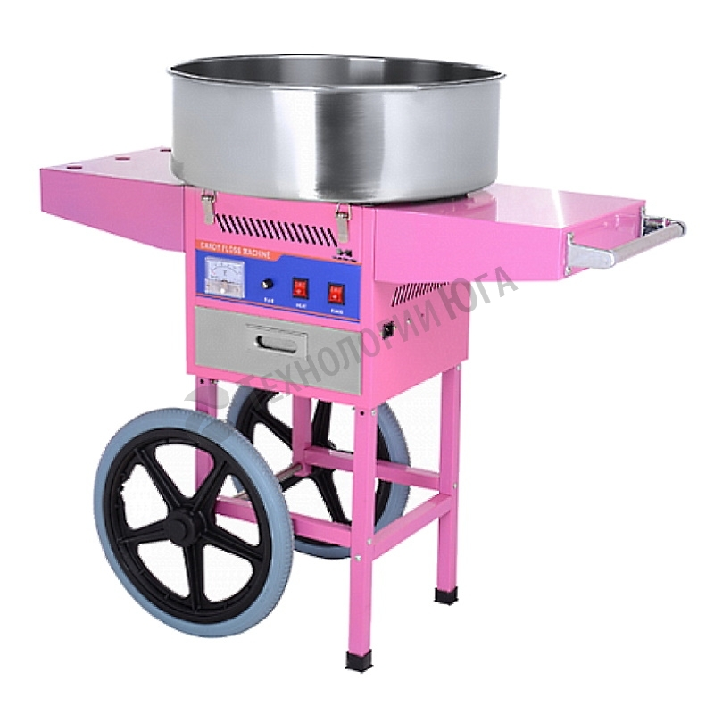 Аппарат для сахарной ваты Hurakan HKN-C2-T на тележке - купить в интернет-магазине industry-shop.ru