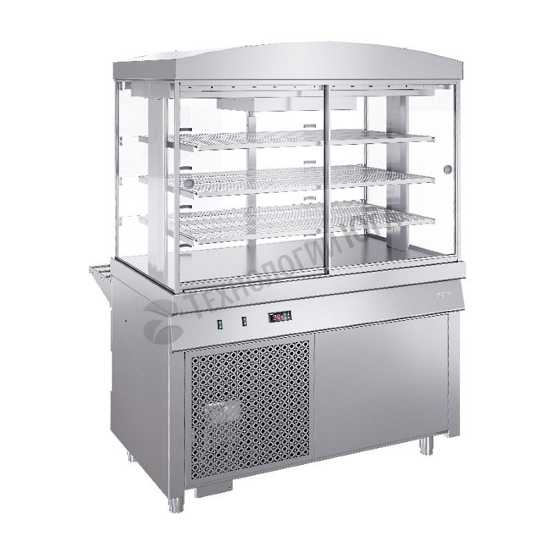 Витрина холодильная ATESY Ривьера ХВ-1120-02 - купить в интернет-магазине industry-shop.ru
