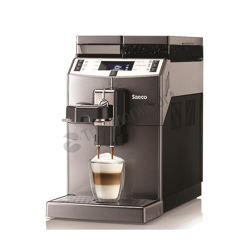 Кофемашина Saeco Lirika One Touch Cappuccino V4 - купить в интернет-магазине industry-shop.ru