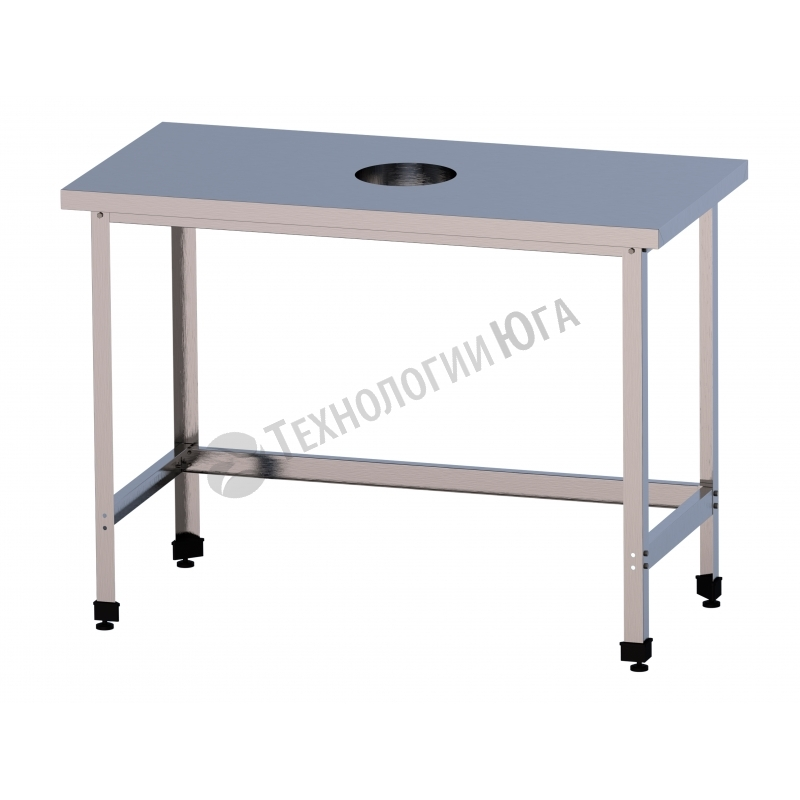 Стол для сбора отходов СРО-2/1800/600-ЮТ - купить в интернет-магазине industry-shop.ru
