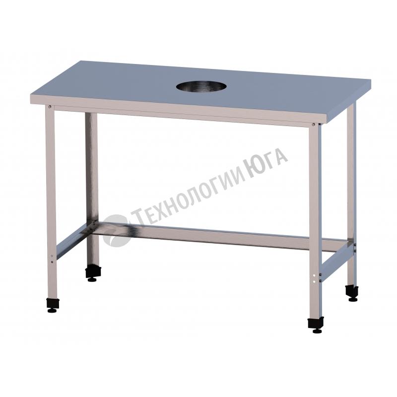 Стол для сбора отходов СРО-2/600/600-ЮТ - купить в интернет-магазине industry-shop.ru