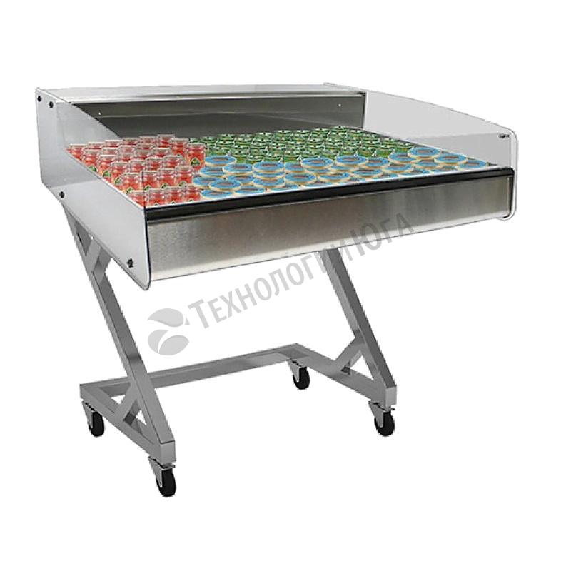 Витрина холодильная для икры и пресервов Carboma А90 SV 1,0-2 (ВХСр-1,0 Арго XL Техно self) - купить в интернет-магазине industry-shop.ru