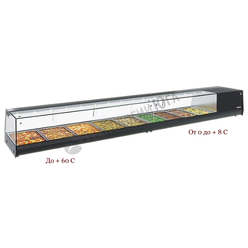 Витрина холодильная Carboma AC37 SM 1,0-1 (4 GN 1/3) - купить в интернет-магазине industry-shop.ru