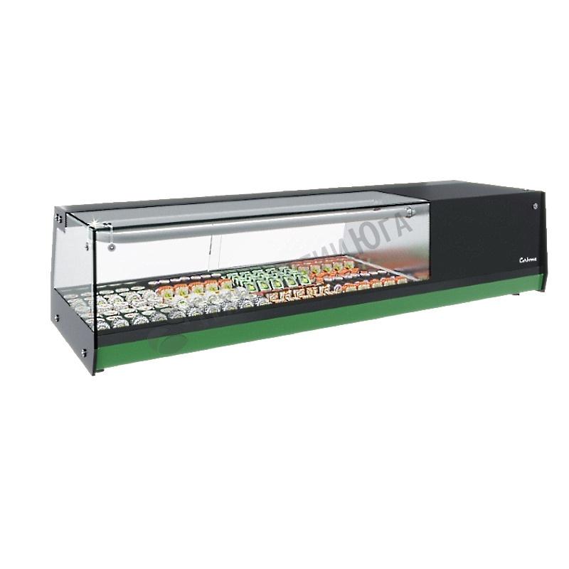 Витрина холодильная Carboma AC37 SM 1,0-1 Sushi (4 GN 1/3) - купить в интернет-магазине industry-shop.ru