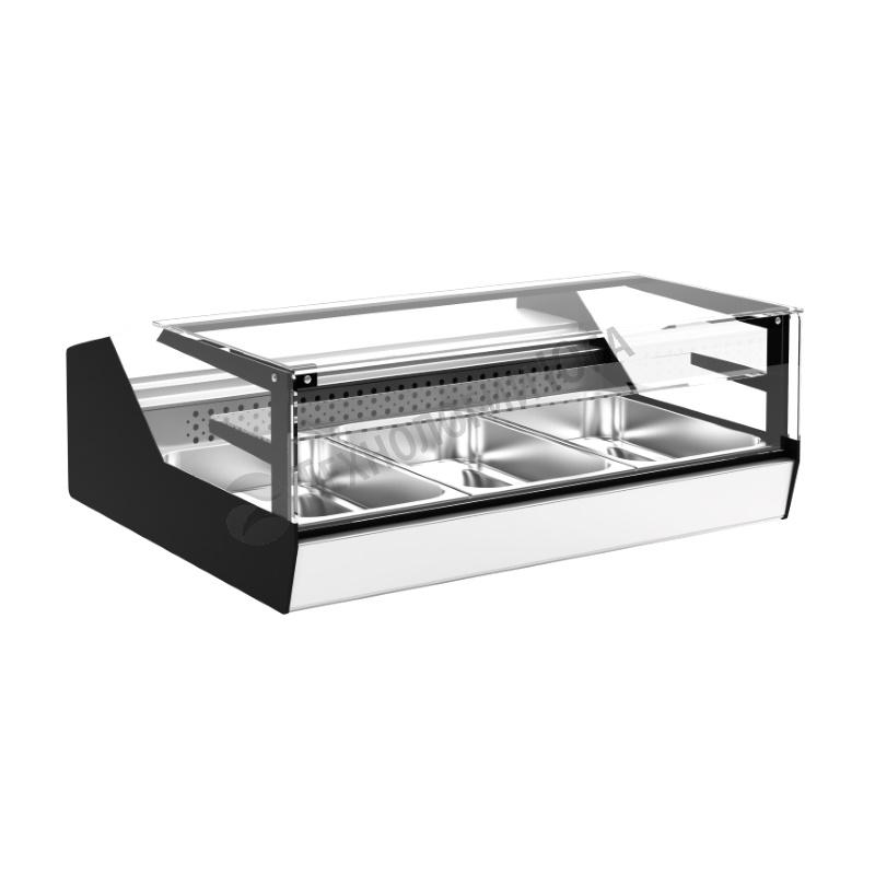 Витрина тепловая Carboma АC87 SH 1,0-1 (ВТ-1,0 Cube Арго XL Техно) - купить в интернет-магазине industry-shop.ru