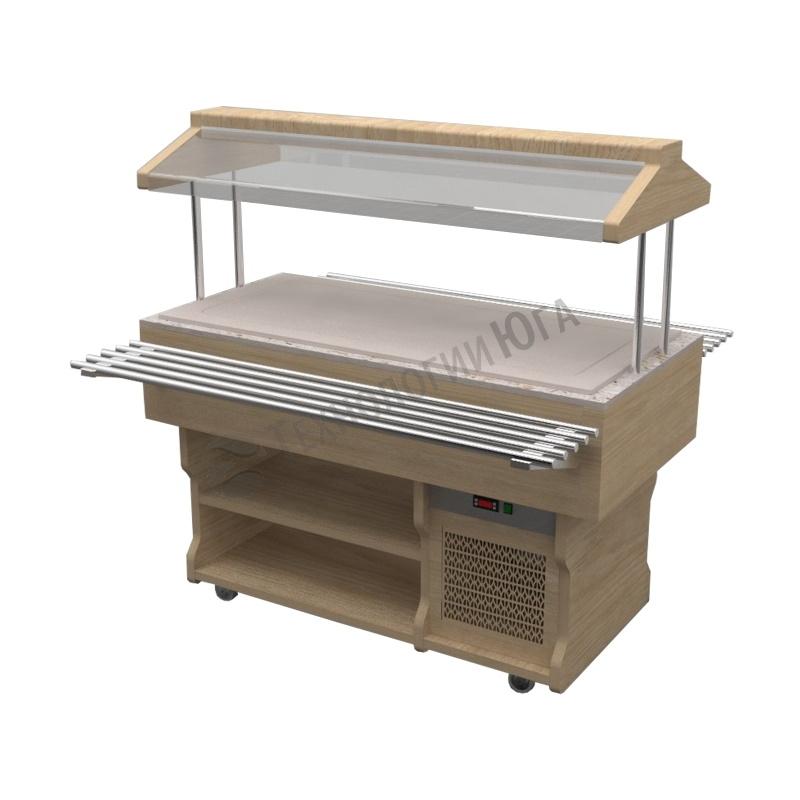 Салат-бар Gastrolux тепловой ТМ-157/ПК/W - купить в интернет-магазине industry-shop.ru