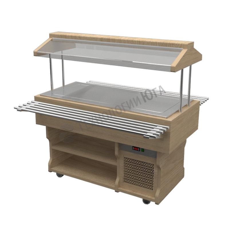 Салат-бар Gastrolux тепловой ТМ-157/ПН/W - купить в интернет-магазине industry-shop.ru