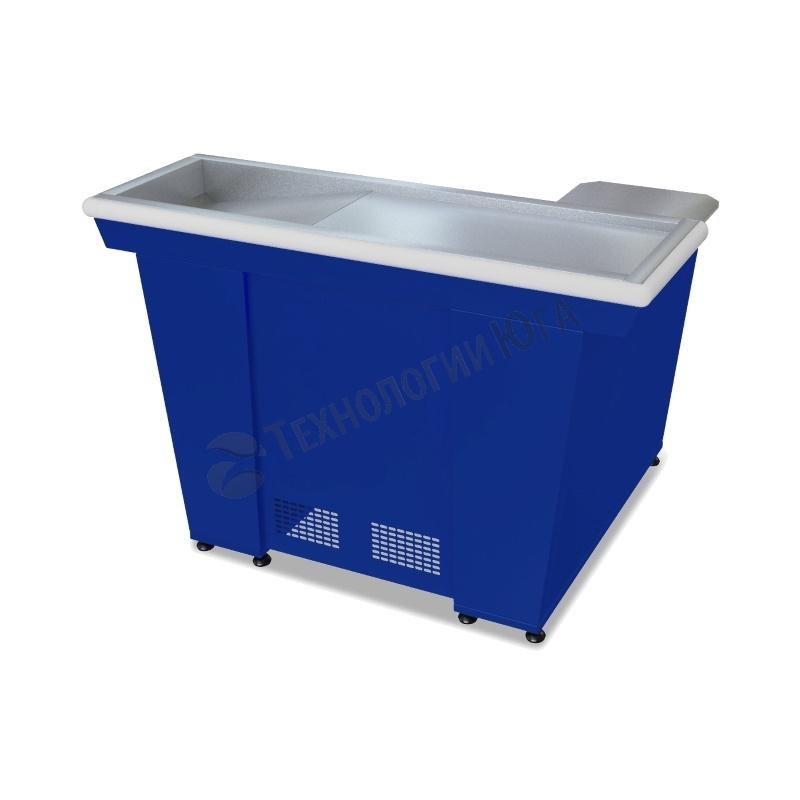 Кассовый бокс МХМ КБ-1,5-1Н одинарный накопитель (синий) - купить в интернет-магазине industry-shop.ru