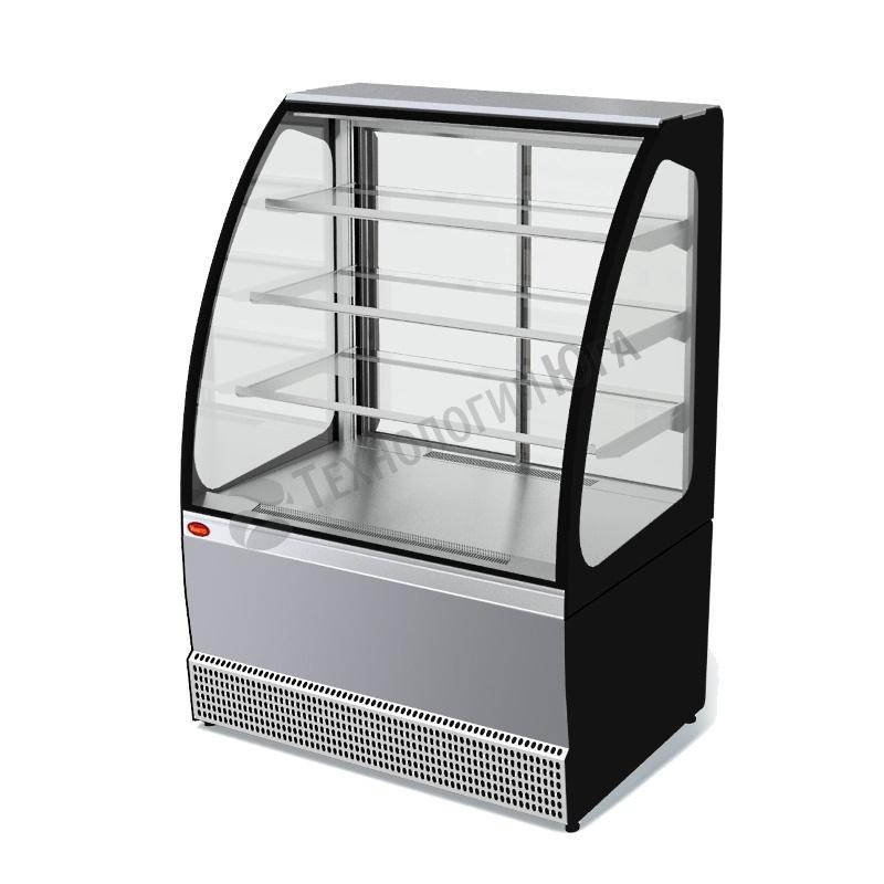 Витрина холодильная МХМ VS-0,95 Veneto нерж - купить в интернет-магазине industry-shop.ru