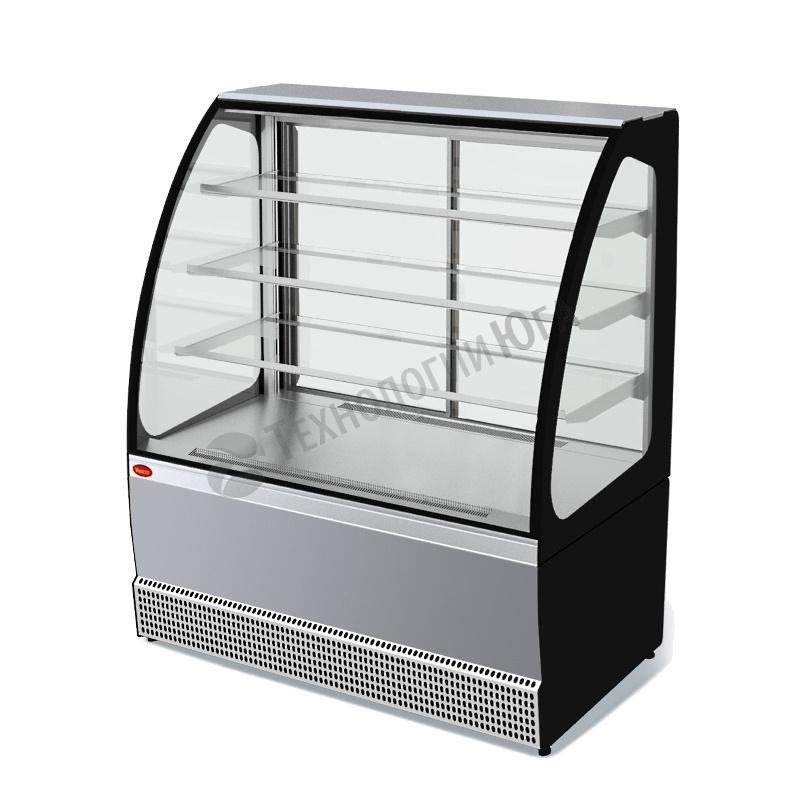 Витрина холодильная МХМ VS-1,3 Veneto нерж - купить в интернет-магазине industry-shop.ru