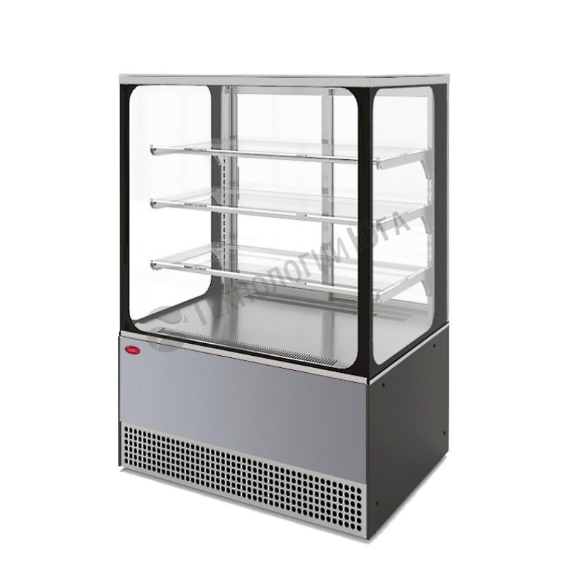 Витрина холодильная МХМ VS-0,95 Veneto Cube нерж - купить в интернет-магазине industry-shop.ru