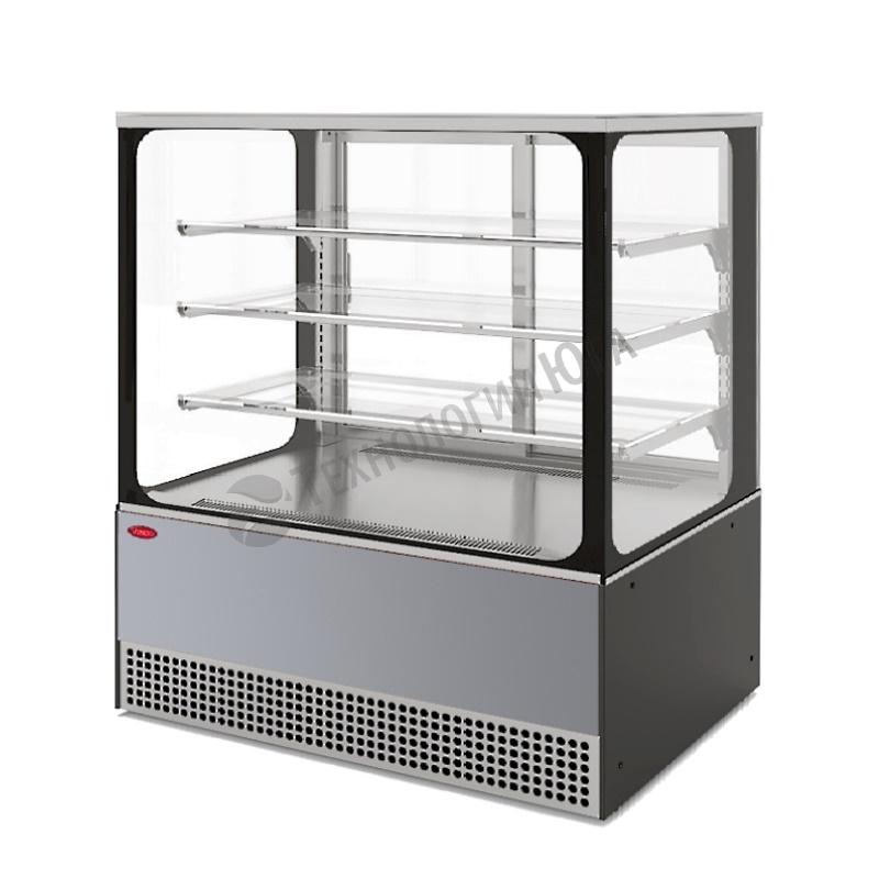 Витрина холодильная МХМ VS-1,3 Veneto Cube нерж - купить в интернет-магазине industry-shop.ru