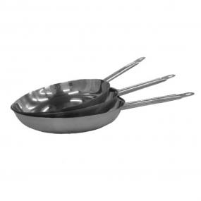 Сковорода с двойным дном нерж с антипр.покр.400х55